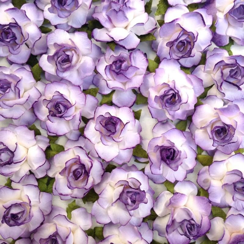lavender paper flowers | Paper Flowers for DIY Projects http://emmalinebride.com/2015-giveaway/paper-flowers-for-diy-projects/