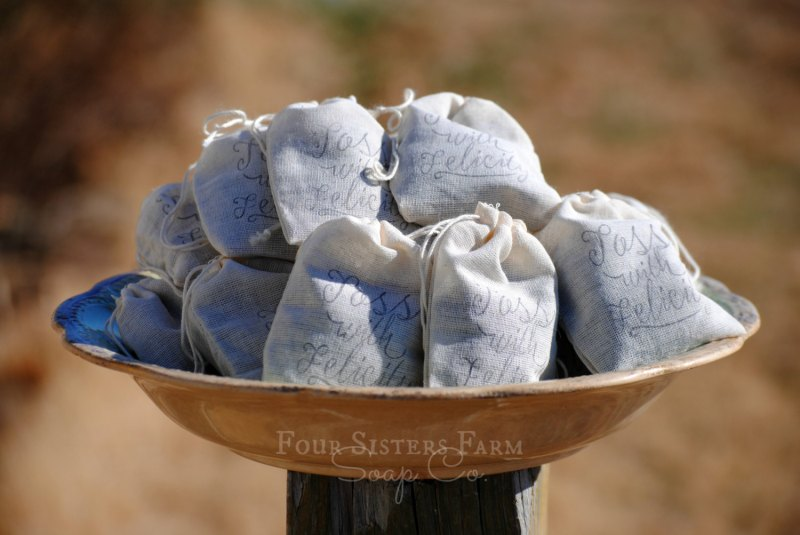 lavender toss bags for ceremony