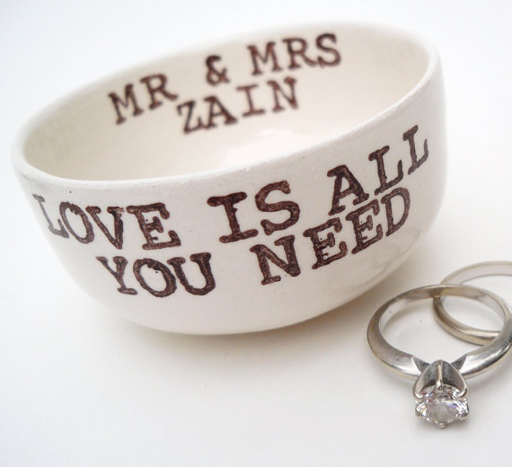 love is all you need ring dish