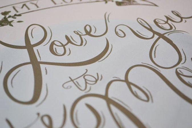 Wedding Poster Ideas for (Easy!) Decor