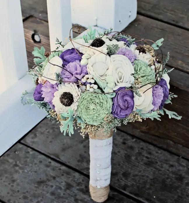 luxe sola flower bouquet
