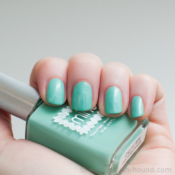 mint | mint nail polishes favors | http://emmalinebride.com/favors/mint-nail-polishes-favors/