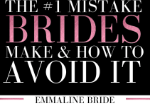 mistake brides make