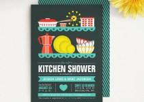 modern kitchen shower