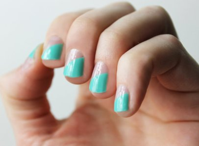 nail wraps | via http://emmalinebride.com/bridal/engagement-ring-care/