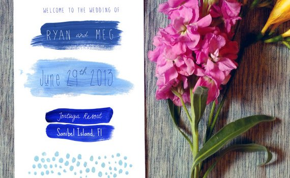 modern-wedding-programs-fans