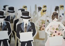 paper doll placecards