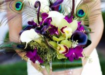 peacock-wedding-bouquet
