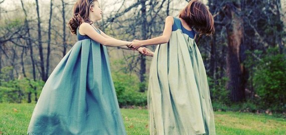pleated flower girl dresses