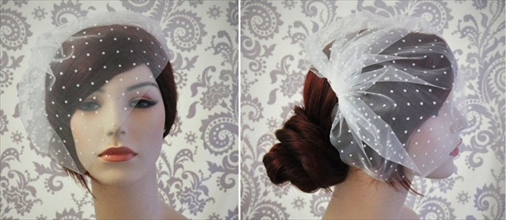 How to Wear a Birdcage Veil - Win a #Birdcage #Veil for your #Wedding!