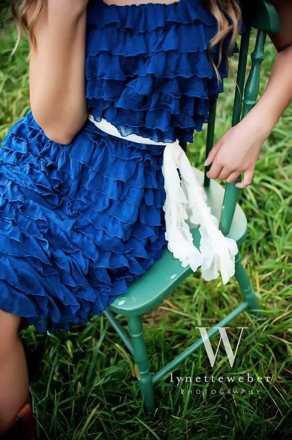 ruffle bridesmaid dresses