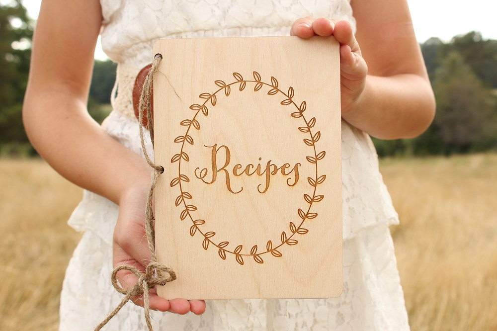 rustic recipe book