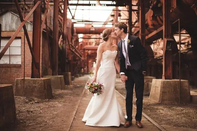 sloss furnaces Couple on their wedding day