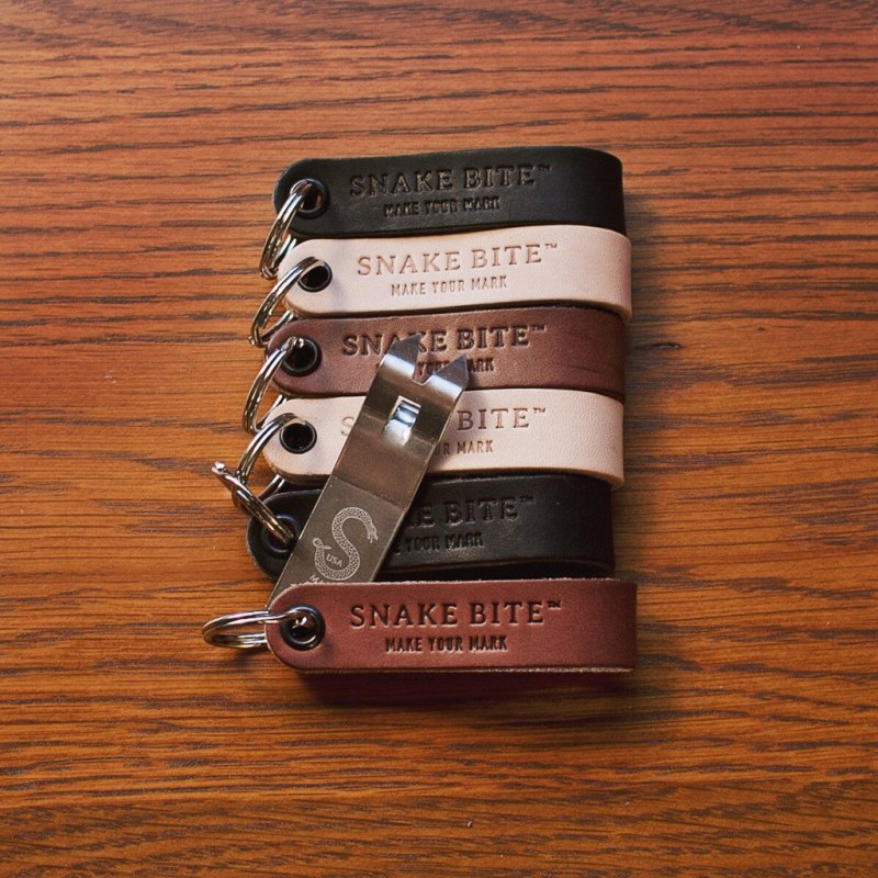 snake bite bottle opener | 50 Most Unique Groomsmen Gifts | via http://emmalinebride.com/groom/unique-groomsmen-gifts-2015/