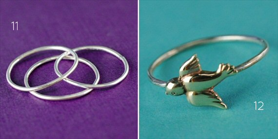 stacking rings by spiffing jewelry