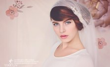 Vintage Inspired Bridal Cap Veils