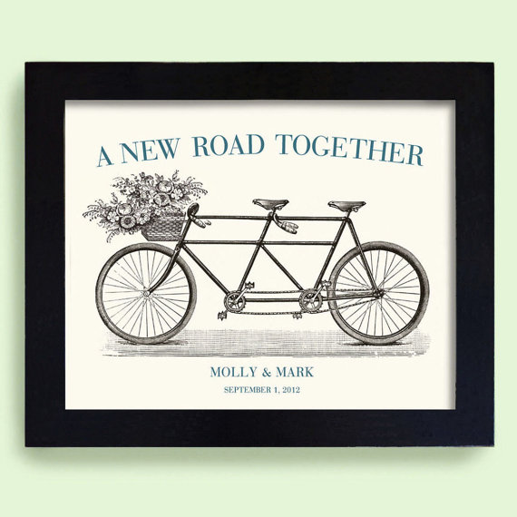 framed art print via Top 10 Non Registry Wedding Gifts