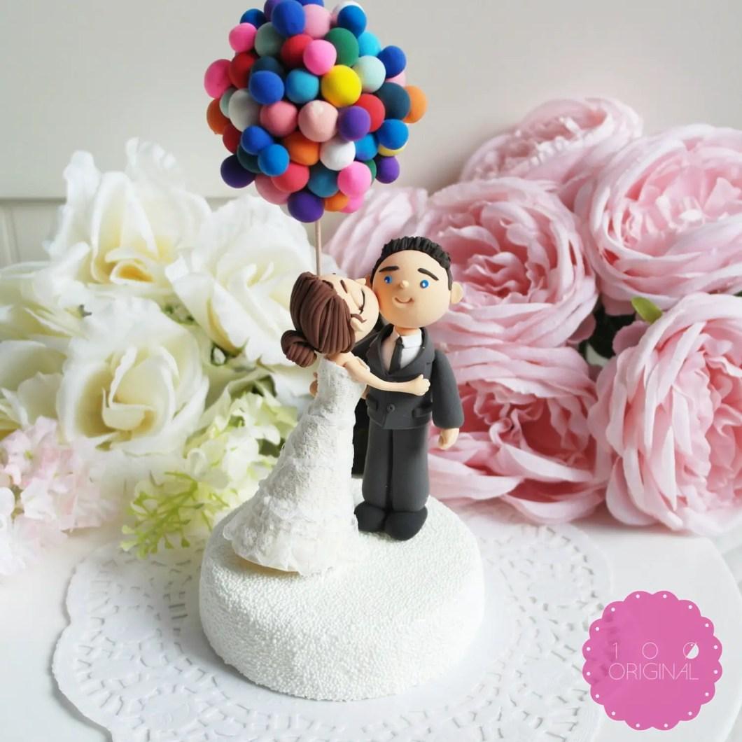 up themed cake topper - 9 Adorable Custom Made Cake Toppers via http://emmalinebride.com/decor/custom-made-cake-toppers/