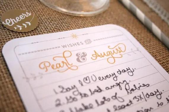 wedding advice coasters
