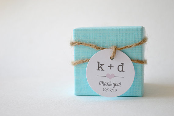 typewriter wedding favor tax and boxes