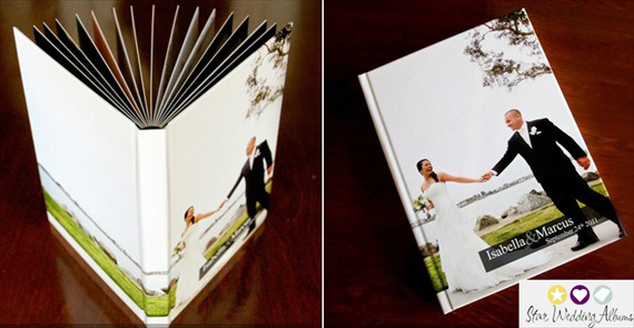 wedding photo album from star wedding albums