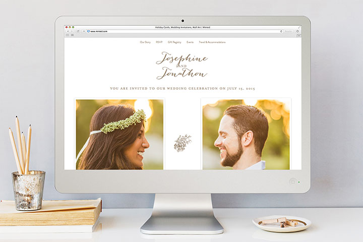 wedding website 1