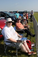 Cameron, Dad and Frank at Waddington Air show 2013