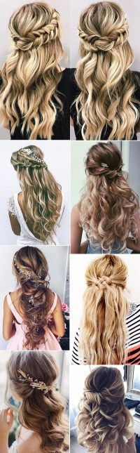 Wedding Hairstyles For Long Hair Half Up | www.pixshark ...