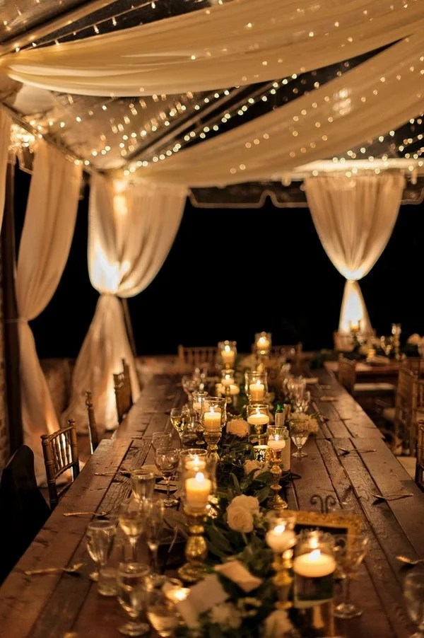 Cena Comida Top 18 Whimsical Outdoor Wedding Reception Ideas