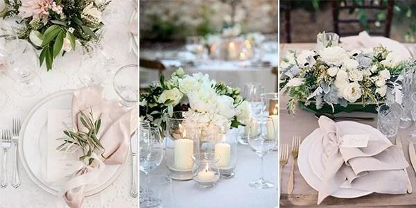 12 Super Elegant Wedding Table Setting Ideas