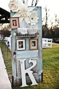 20 Rustic Wedding Decoration Ideas with Vintage Doors ...