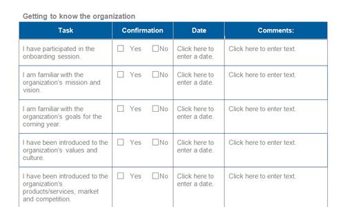 Employee Onboarding Checklist \u2013 emmamcintyrephotography