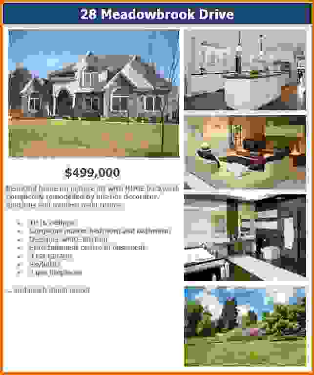 Free Real Estate Flyer Template \u2013 emmamcintyrephotography