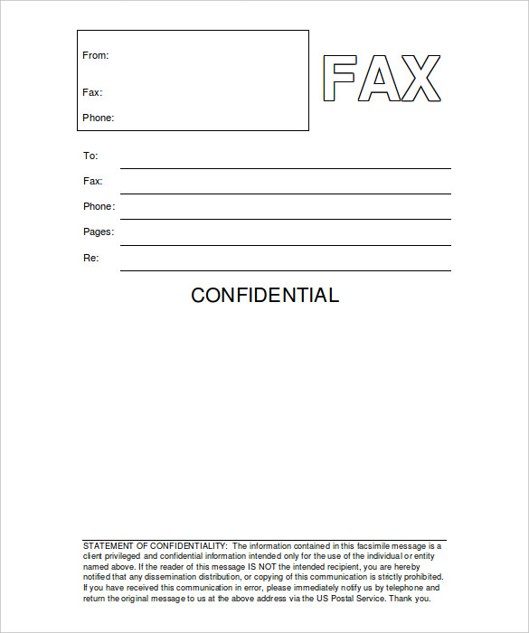 fax cover letter template word 2007 microsoft office fax cover