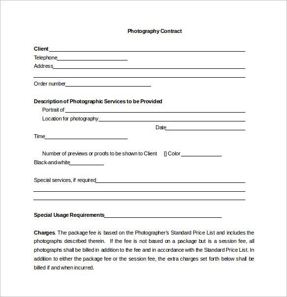 Portrait Photography Contract \u2013 emmamcintyrephotography