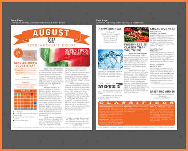 Print Newsletter Templates \u2013 emmamcintyrephotography