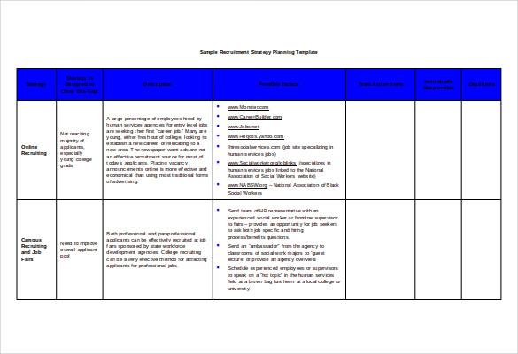 Recruitment Strategy Template \u2013 emmamcintyrephotography