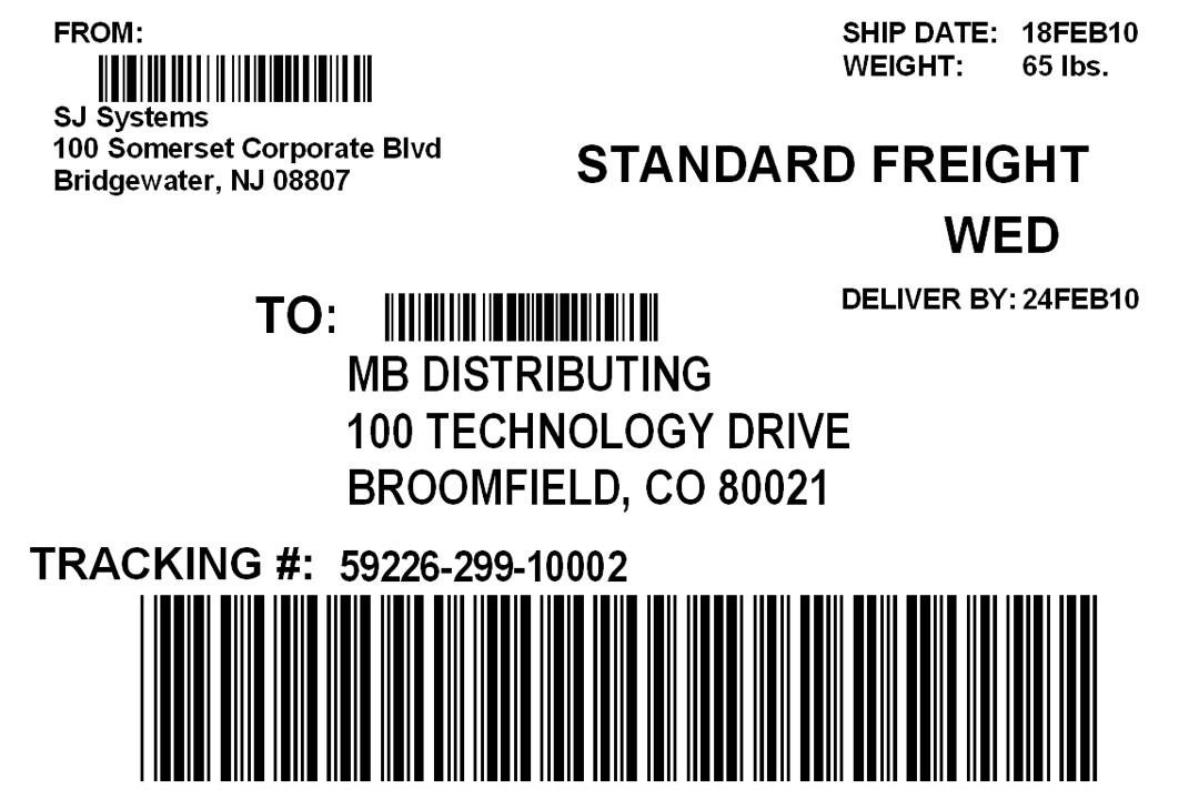 Sample Shipping Label \u2013 emmamcintyrephotography