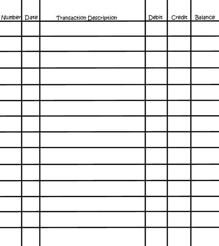 Free Checkbook Register Software \u2013 emmamcintyrephotography