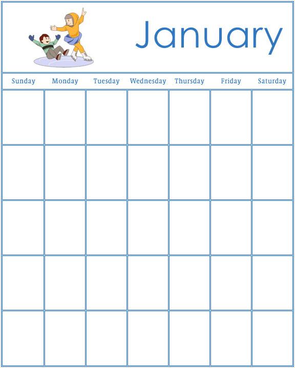 Preschool Calendar Templates \u2013 emmamcintyrephotography
