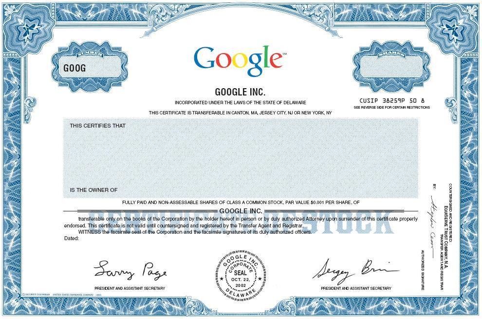 Stock Certificate Sample \u2013 emmamcintyrephotography