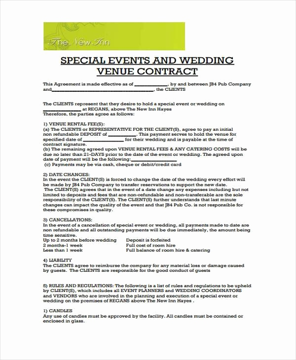 wedding venue contract - Seckinayodhya