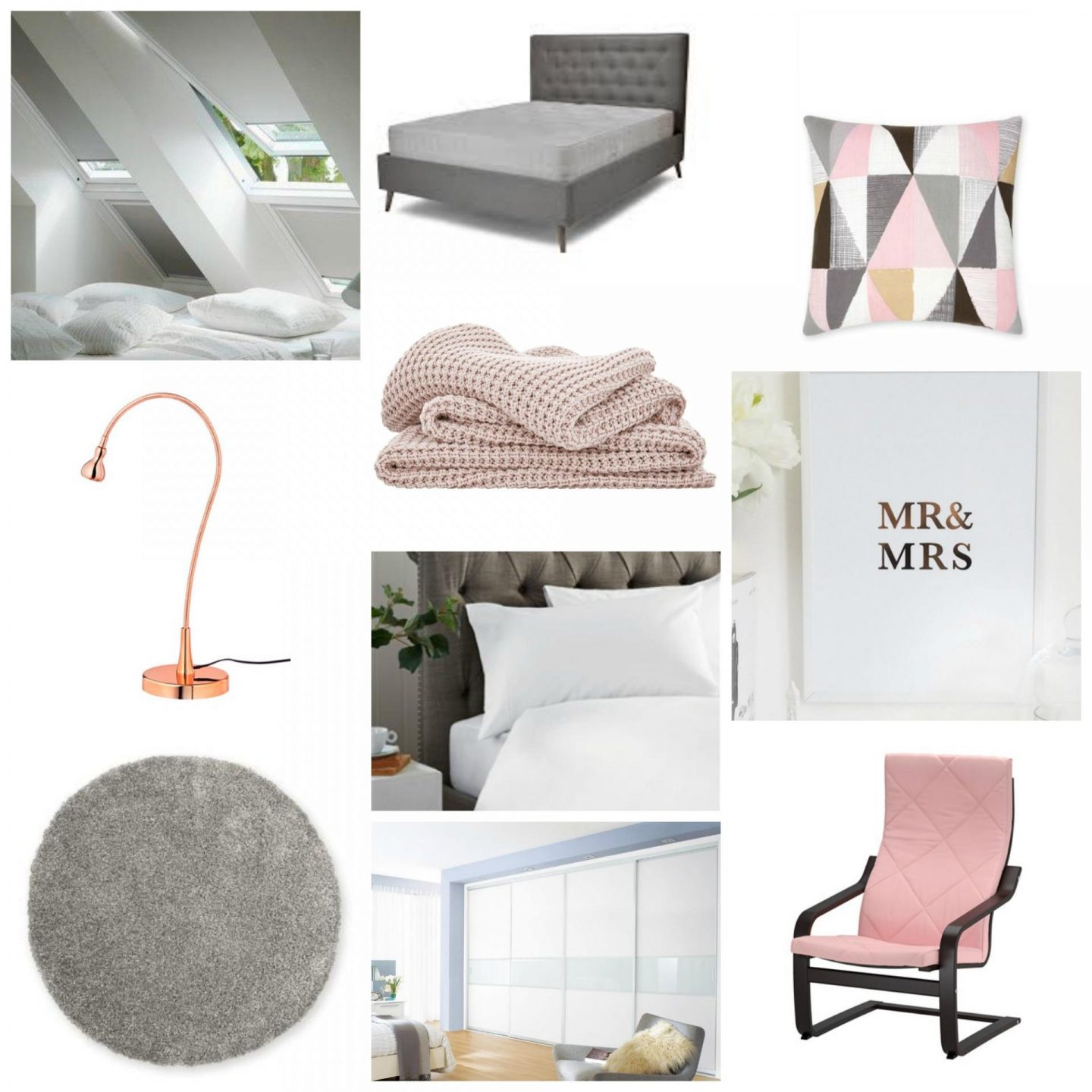 Roze Accessoires Slaapkamer Bedroom Inspiration White Grey And Blush Emma Plus Three