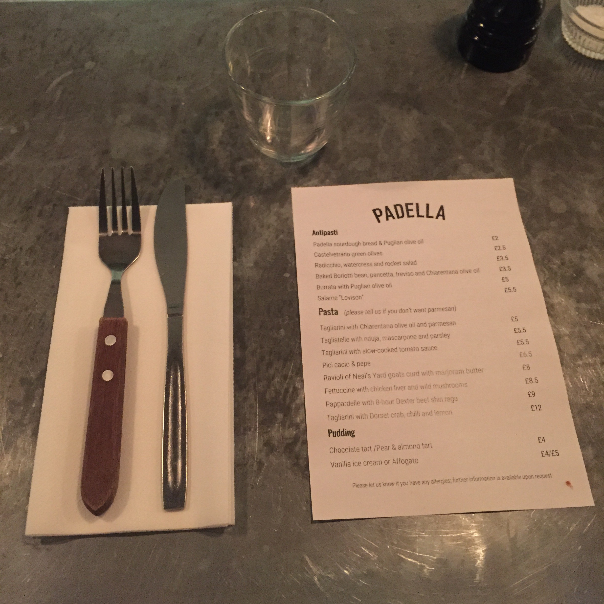 Padella Oil Review Padella Just Another London Foodie