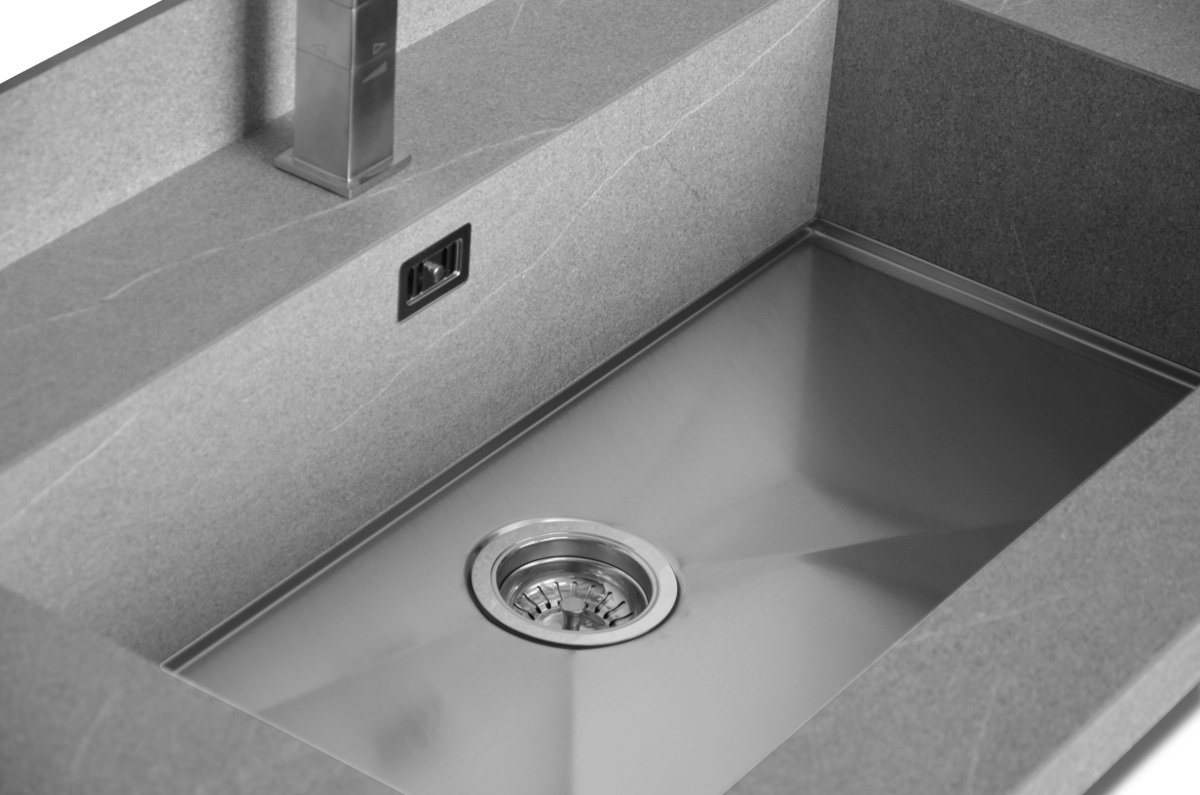 Lavabo Integrato Top Con Lavabo Integrato H Cm Top Con Lavabo Integrato