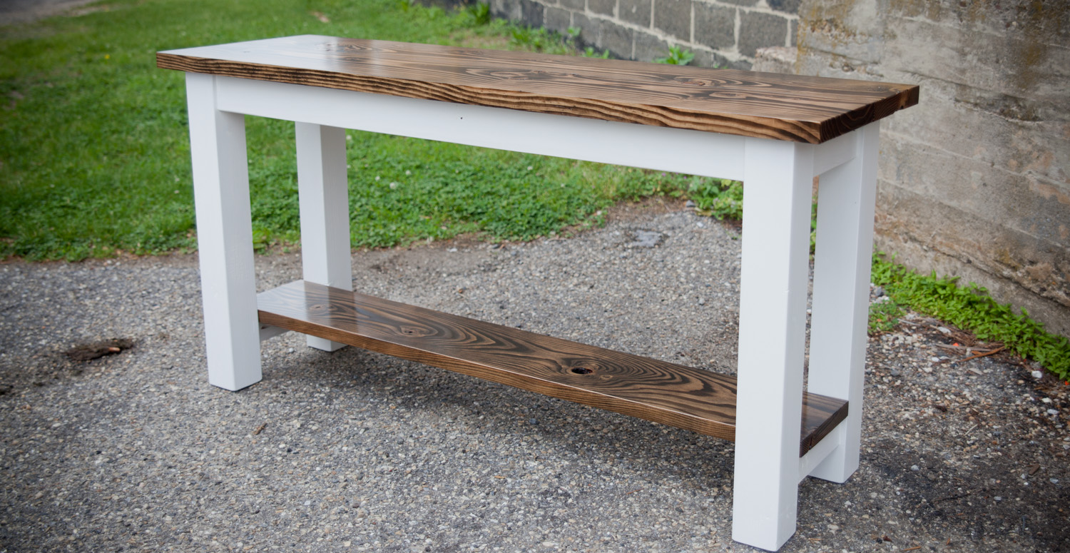 Farmhouse Console Table Farmhouse Sofa Table Diy Sofa Table Farmhouse Style The