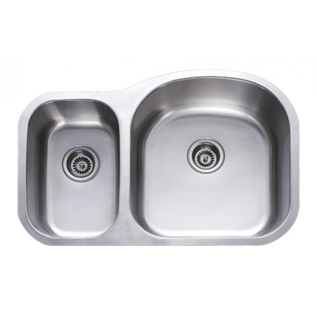 Stainless Steel Double Sink 31 Inch Stainless Steel Undermount 30 70 Double Bowl