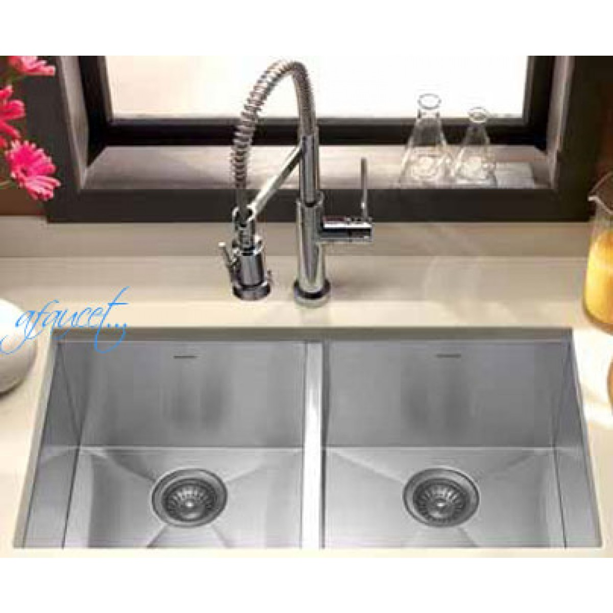 Stainless Steel Double Sink 29 Inch Stainless Steel Undermount 50 50 Double Bowl