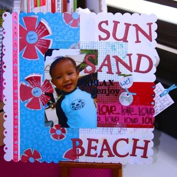 sun sand beach