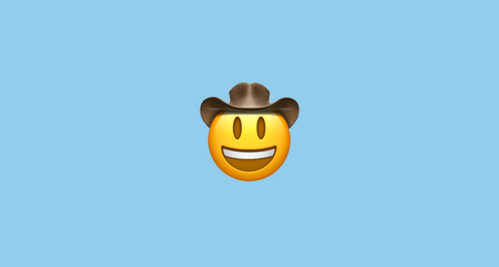 Fall Out Boy Wallpaper Android Face With Cowboy Hat Emoji